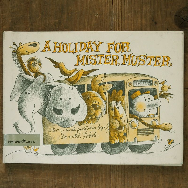 画像1: Arnold Lobel / A HOLIDAY FOR MISTER MUSTER